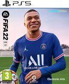 Portada oficial de de FIFA 22 para PS5
