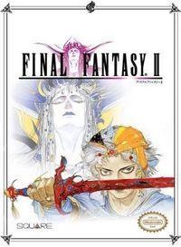 Portada oficial de Final Fantasy II (Final Fantasy IV) CV para Wii