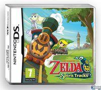 Portada oficial de The Legend of Zelda: Spirit Tracks para NDS