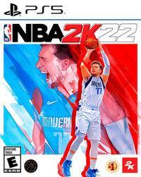 Portada oficial de NBA 2K22 para PS5