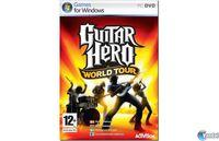 Portada oficial de Guitar Hero: World Tour para PC
