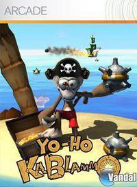 Portada oficial de Yo-Ho Kablammo XBLA para Xbox 360