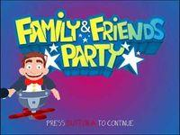 Portada oficial de Family and Friends Party  WiiW para Wii