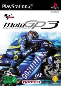 Portada oficial de Moto GP 3 para PS2