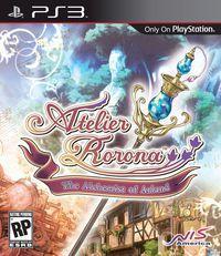 Portada oficial de Atelier Rorona para PS3