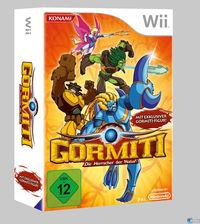 Portada oficial de Gormiti: The Lords of Nature! para Wii