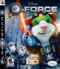 Portada oficial de G-Force para PS3