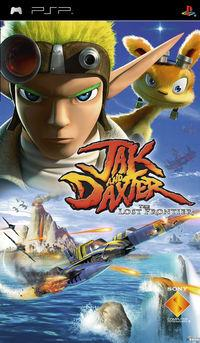 Portada oficial de Jak and Daxter: The Lost Frontier para PSP