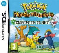 Portada oficial de Pokémon Mundo Misterioso: Exploradores del cielo para NDS