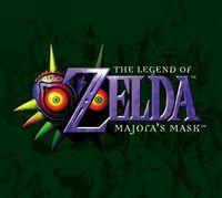 Portada oficial de The Legend of Zelda: Majora's Mask CV para Wii
