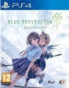 Portada oficial de de Blue Reflection: Second Light para PS4