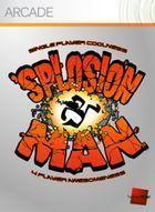 Portada oficial de de 'Splosion Man XBLA para Xbox 360