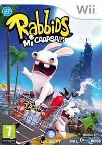 Portada oficial de Rabbids: Mi Caaasa!!! para Wii