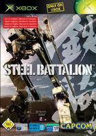 Portada oficial de de Steel Battalion para Xbox