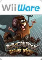 Portada oficial de de Robocalypse - Beaver Defense WiiW para Wii