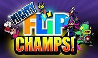Portada oficial de Mighty Flip Champs! DSiW para NDS