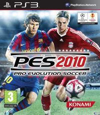 Portada oficial de Pro Evolution Soccer 2010 para PS3