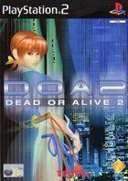 Portada oficial de de Dead or Alive 2 para PS2