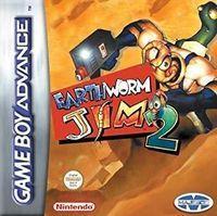 Portada oficial de Earthworm Jim 2 para Game Boy Advance