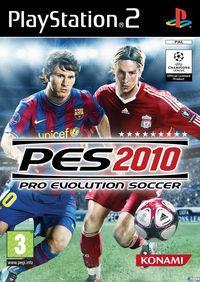 Portada oficial de Pro Evolution Soccer 2010 para PS2