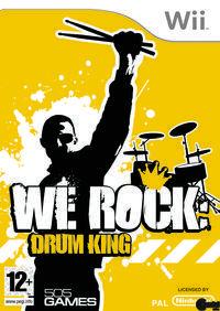 Portada oficial de We Rock: Drum King para Wii