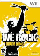 Portada oficial de de We Rock: Drum King para Wii