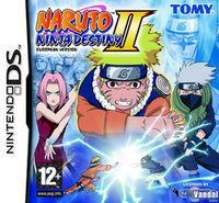 Portada oficial de Naruto Ninja Destiny 2 para NDS