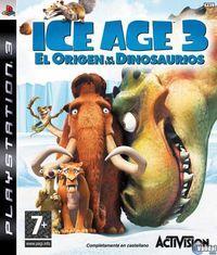 Portada oficial de Ice Age 3 para PS3