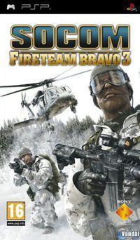 Portada oficial de Socom: Fireteam Bravo 3 para PSP