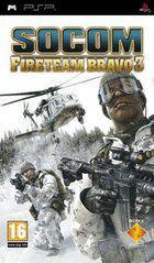 Portada oficial de de Socom: Fireteam Bravo 3 para PSP