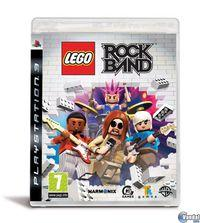 Portada oficial de LEGO Rock Band para PS3