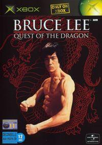 Portada oficial de Bruce Lee: Quest of the Dragon para Xbox