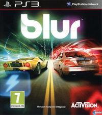 Portada oficial de Blur para PS3