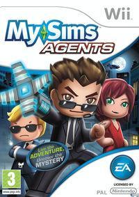 Portada oficial de MySims Agents para Wii