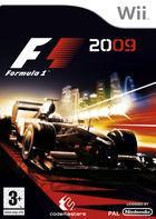 Portada oficial de de F1 2009 para Wii