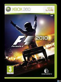 Portada oficial de F1 2010 para Xbox 360