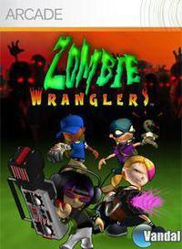 Portada oficial de Zombie Wranglers XBLA para Xbox 360