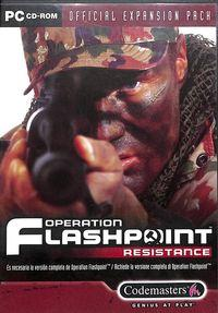 Portada oficial de Operation Flashpoint: Resistance para PC