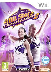 Portada oficial de All Star Cheerleader 2 para Wii