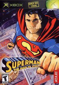 Portada oficial de SuperMan: El Hombre de Acero para Xbox