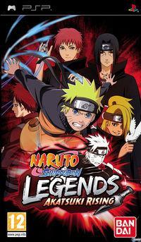 Portada oficial de Naruto Shippuden: Legends: Akatsuki Rising para PSP