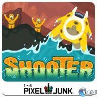 Portada oficial de PixelJunk Shooter PSN para PS3