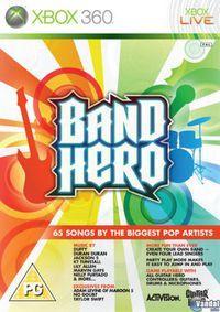 Portada oficial de Band Hero para Xbox 360