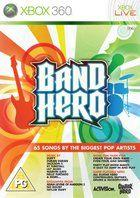 Portada oficial de de Band Hero para Xbox 360