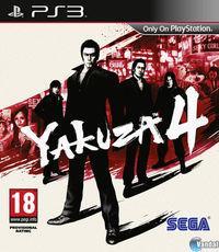 Portada oficial de Yakuza 4 para PS3