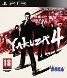 Portada oficial de de Yakuza 4 para PS3