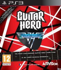 Portada oficial de Guitar Hero: Van Halen para PS3