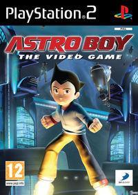 Portada oficial de Astro Boy para PS2