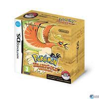 Portada oficial de Pokémon Oro y Plata para NDS
