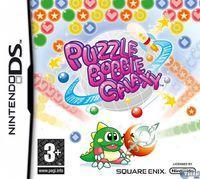 Portada oficial de Puzzle Bobble Galaxy para NDS